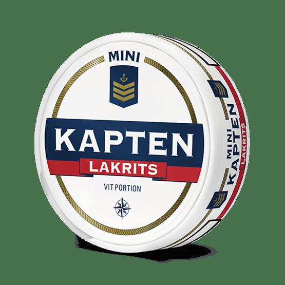Kapten Vit Mini Lakrits