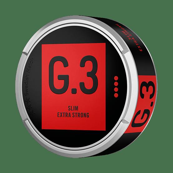 General G.3 Extra Stark Slim Portionssnus