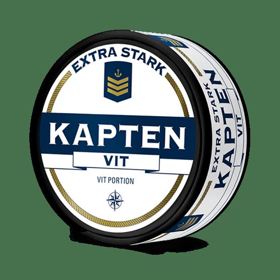 Kapten Vit Extra Stark Portionssnus