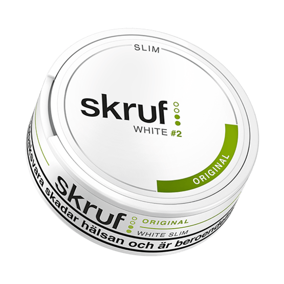 Skruf Original Slim White