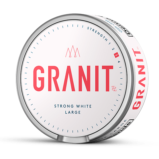 Granit Vit Stark Portion