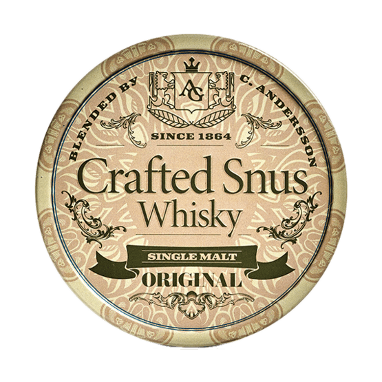 Crafted Snus Whisky Original Portionssnus