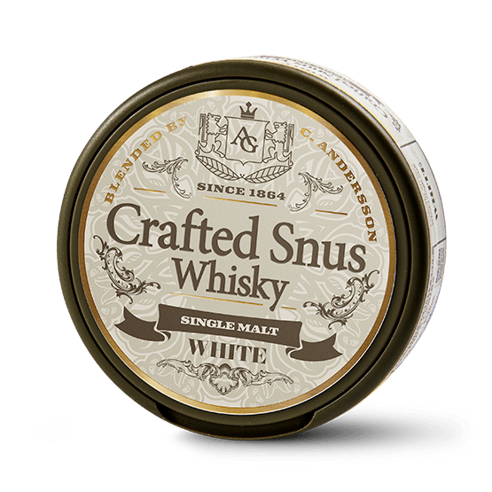 Crafted Snus Whisky White Portionssnus