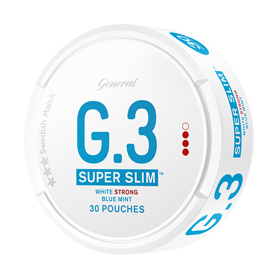 General G.3 Superslim Mint Strong Portionssnus