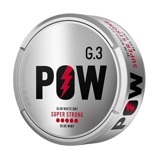 G.3 Pow Slim White Dry Super