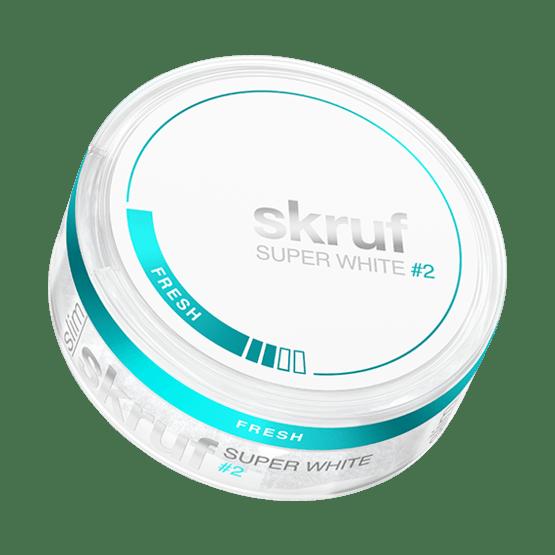 Skruf Super White Slim Fresh