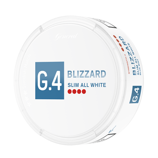 G.4 Blizzard Slim All White Portion