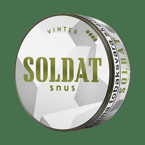 Soldat Vinter Vit Portionsnus