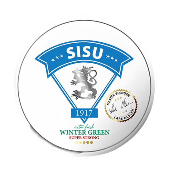 Sisu Wintergreen White Dry Portion