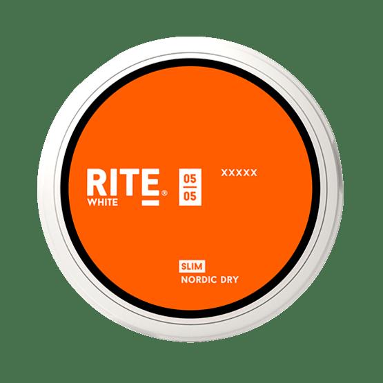 Rite White Nordic Dry Slim Portionsnus