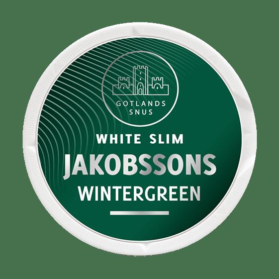 Jakobsson'S White Slim Wintergreen