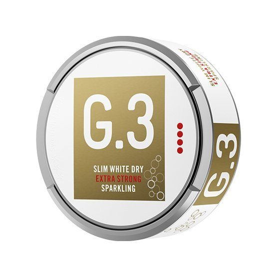 General G.3 Slim White Dry Extra Strong Sparkling