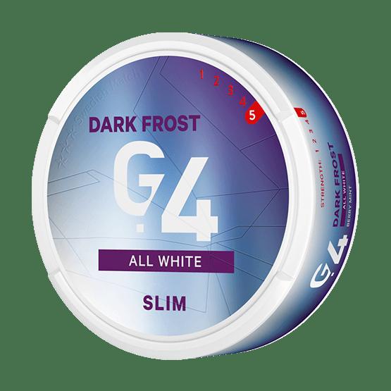 G.4 Dark Frost All White Portion