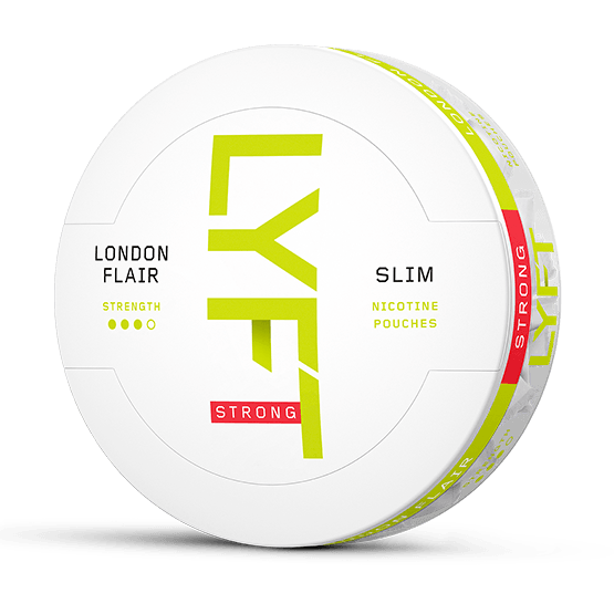 Lyft London Flair Slim All White Portion