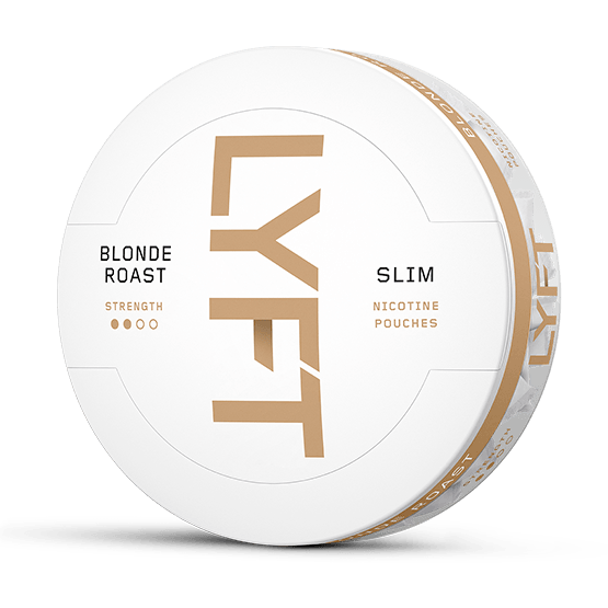 Lyft Blonde Roast Slim All White Portion