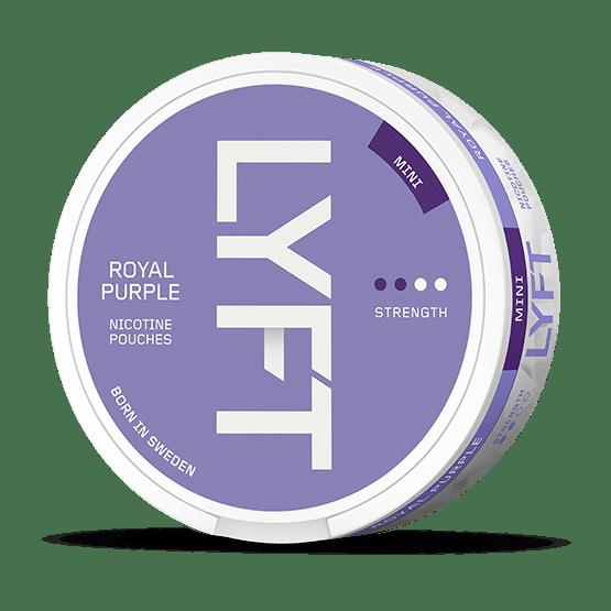 Lyft Royal Purple Mini All White Portion