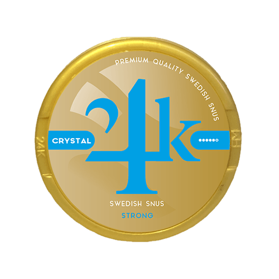 24K Crystal 12 mg Limited Edition White