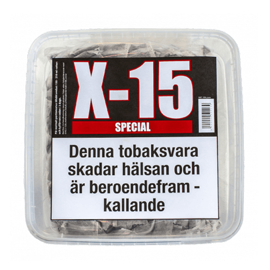 X-15 Portion Special Snussats