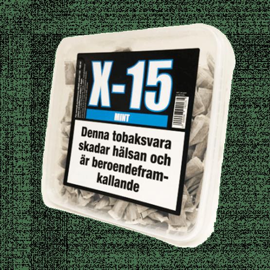 X-15 Portion Mint Snussats