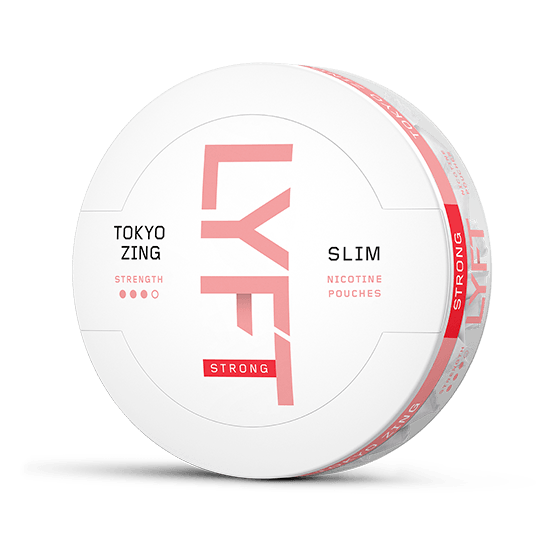 Lyft Tokyo Zing Strong Slim All White Portion