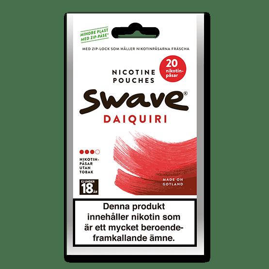 Swave Daiquiri All White Zip Påse