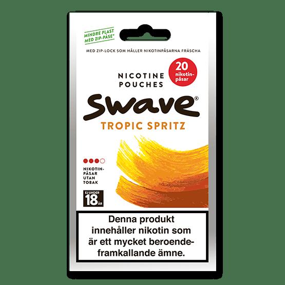 Swave Tropic Spritz All White Zip Påse