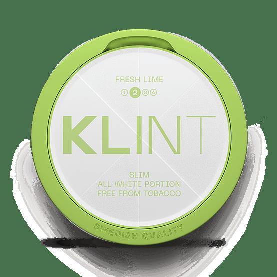 Klint Fresh Lime Slim All White 8Mg