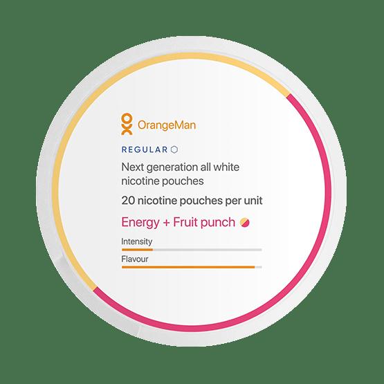 OrangeMan Energy Fruit Punch Normal Slim