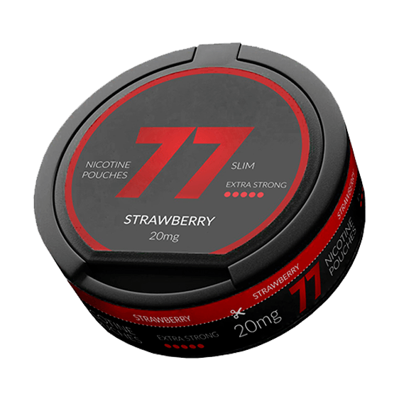 77 Strawberry Slim All White Portion 20Mg