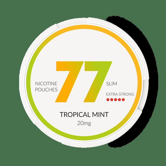 77 Tropical Mint Slim All White Portion 20Mg