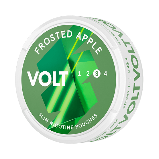 VOLT Frosted Apple Slim All White