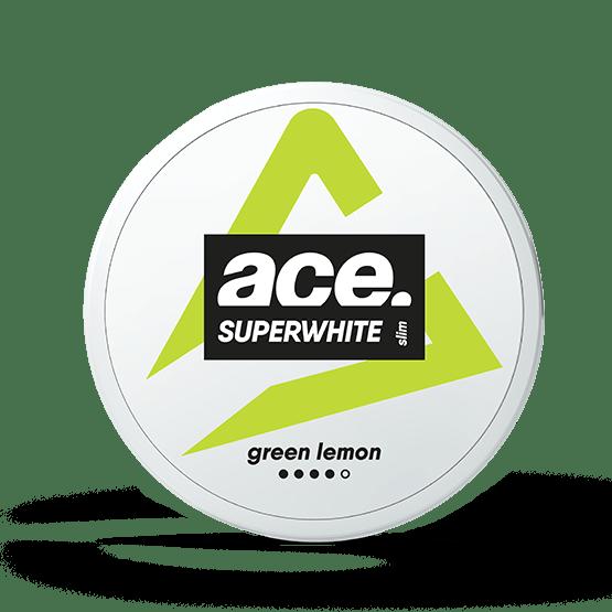 Ace Green Lemon All White Portion