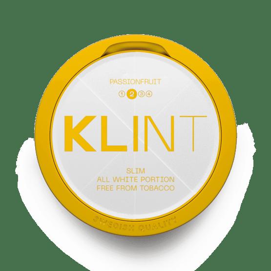 Klint Passionfruit Slim All White 8Mg