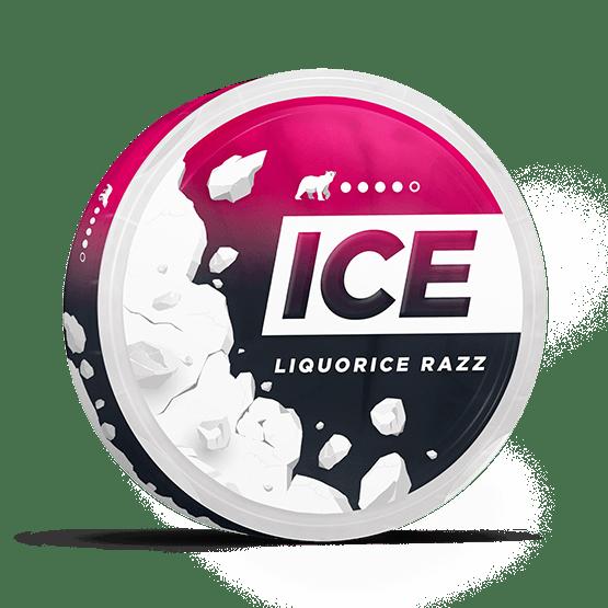 Ice Liquorice Razz Strong Slim
