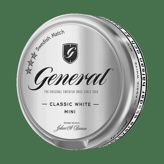 General Mini White Portionssnus