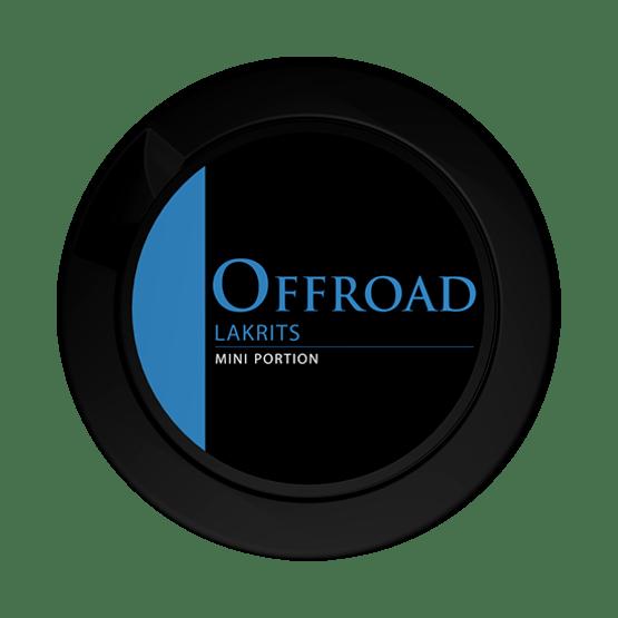 Offroad Lakrits Mini Portionssnus